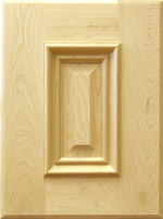 Romark kitchen cabinet door with applied moulding