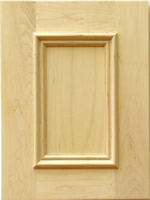 Bradfield kitchen cabinet door with applied moulding