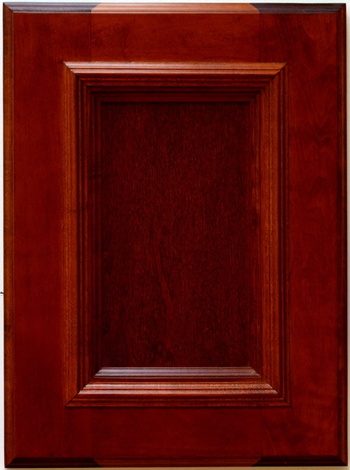 Allstyle Cabinet Doors: Mitchell Cabinet Door in Sangria Finish