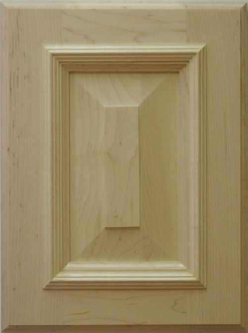 Belvadere kitchen cabinet door with applied moulding