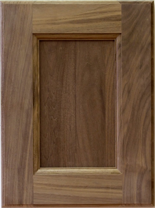 Russell Shaker Kitchen Cabinet Door With Solid Wood Center