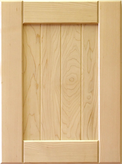 Mission V Groove Panel Shaker Kitchen Cabinet Door