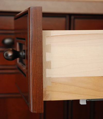 Dovetail Drawer Boxes Custom made by Allstyle Cabinet Doors