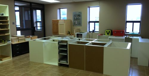 allstyle research and development where we experiment test and train on cabinet door design and