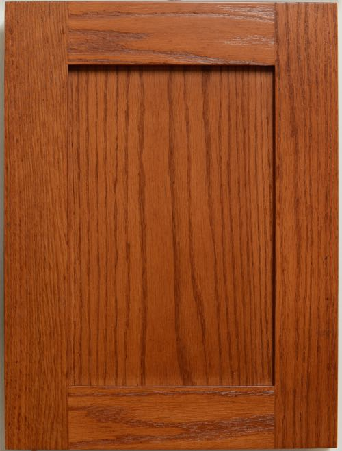 Oak shaker style cabinet doors for F kitchen lancaster