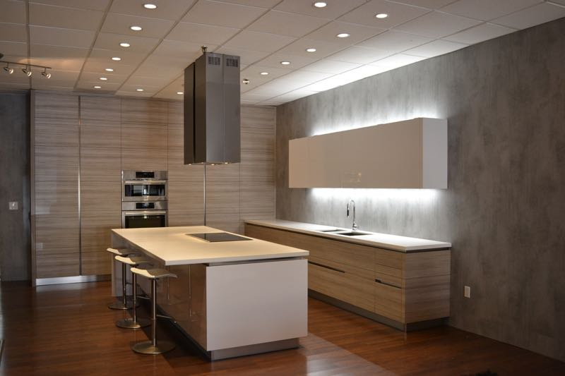 Textured laminate kitchen cabinet doors by allstyle for Laminate sheets for cabinet refacing