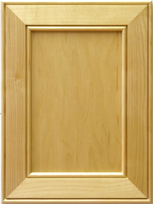 Colchester Cabinet Door in maple with clear coat lacquer finish