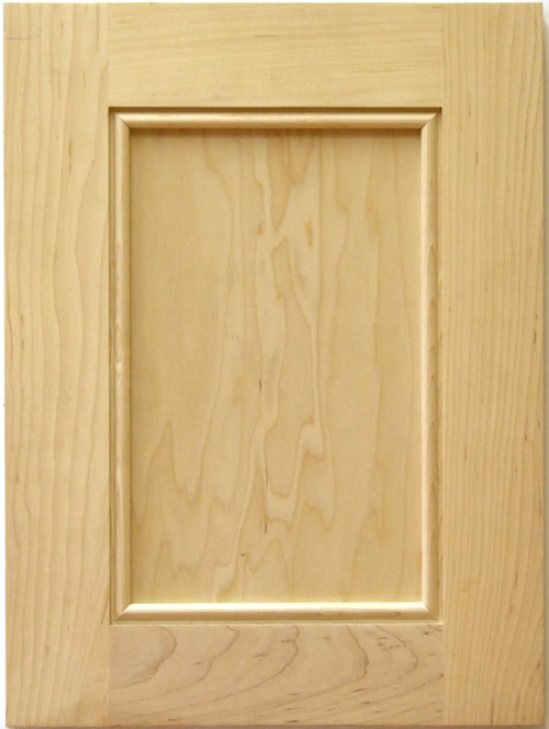 Stonybrook Cabinet Door with applied moulding in maple