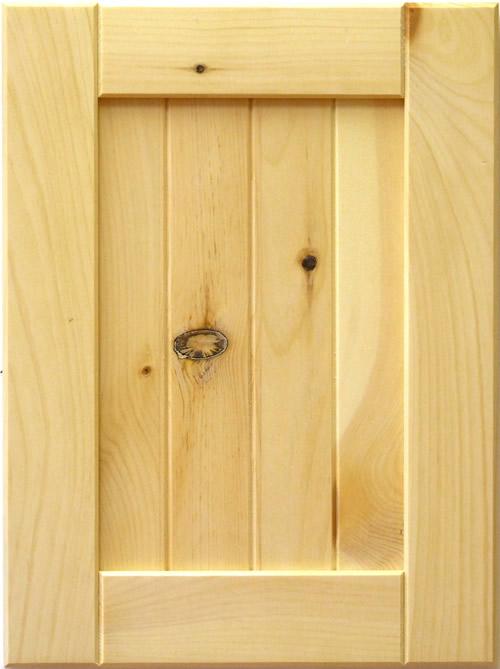 Mission V Groove Panel Shaker Kitchen Cabinet Door