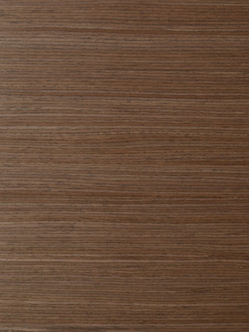 Quartered Walnut recon cabinet door in horizontal grain