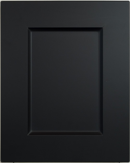 shaker vinyl wrapped cabinet door